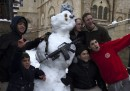 La neve in Israele e Palestina
