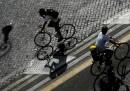 I ciclisti a Roma