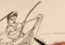 Il vecchio e il mare, disegnato
