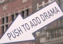 Schiaccia il pulsante per aggiungere dramma