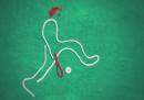 Una partita di tennis di fili e bottoni