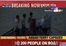 Il traghetto affondato in India