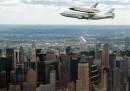Il volo dell'Enterprise su New York