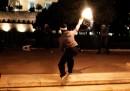 Le foto degli scontri ad Atene