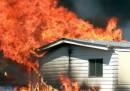 L'incendio in Nevada