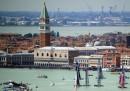 Le foto di Venezia e i catamarani, dall'alto