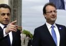 Hollande e Sarkozy, insieme