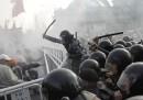 Gli scontri di Mosca