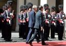 Mario Monti e François Hollande