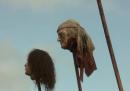 La testa mozzata di George W. Bush in Game of Thrones