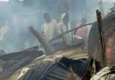 Le foto dell'incendio nella periferia di Nairobi