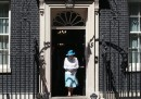Il ricevimento dei Cameron per la regina Elisabetta II