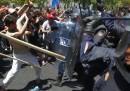 Le foto degli scontri a Madrid