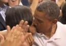 Il bacio per la