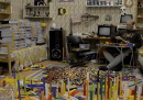 Dividere per colore e forma 65000 pezzi di Lego