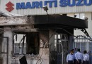 Gli scontri nella fabbrica Suzuki in India