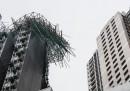 Le foto del tifone a Hong Kong