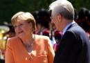 Angela Merkel a Roma
