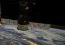 La vista dalla Stazione Spaziale Internazionale, in timelapse