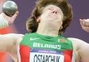 Nadzeya Ostapchuk squalificata per doping