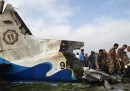 L'aereo caduto a Katmandu