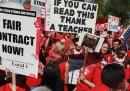Il sindaco di Chicago contro gli insegnanti in sciopero