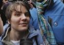 Una delle Pussy Riot è stata liberata