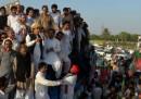 La marcia contro i droni in Pakistan