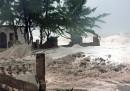 L'uragano Sandy in Giamaica
