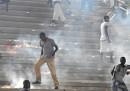 Gli scontri durante Senegal-Costa d'Avorio