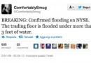Sandy e notizie false, su Twitter
