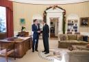 Obama con Romney nello Studio Ovale