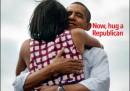La copertina dell'Economist sulla vittoria di Obama