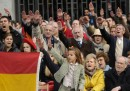 Il raduno franchista a Madrid