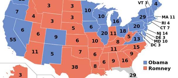 Stati Uniti Cartina Politica.Tutte Le Mappe Elettorali Americane Il Post