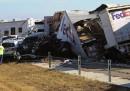 L'enorme incidente stradale in Texas