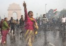 Le manifestazioni a Delhi contro la violenza sulle donne