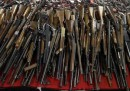 Le foto delle armi rivendute allo stato in New Jersey