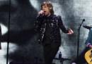 Il concerto dei Rolling Stones ieri a New York