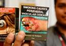 I nuovi pacchetti di sigarette in Australia