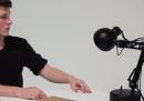 La lampada animata della Pixar, ma reale