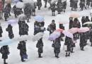 La neve e il Giappone