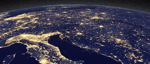 Cartina Satellitare Mondo.Il Mondo Di Notte Foto Il Post