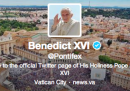 Consigli su Twitter al Papa