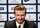 Beckham al Paris Saint Germain