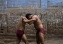 I lottatori kushti in Pakistan