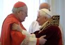Le foto delle dimissioni del Papa