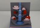 Il ciclo dell'acqua, di carta