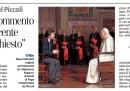 La Stampa ha chiesto del Papa a Michel Piccoli, che si è arrabbiato