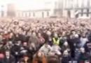 La folla per Grillo a Torino